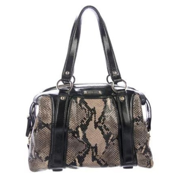 db4c23a28091 Michael Kors Bags | Snake Embossed Patent Leather Tote | Poshmark